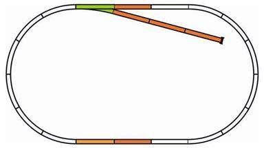 PIKO 55311 — Набор пути B на призме, H0