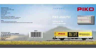 PIKO 55051 — Программное обеспечение для вагона-замерщика PIKO