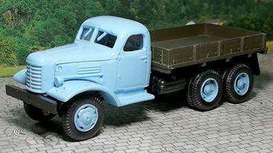 RUSAM-ZIL-157-10-610 — Автомобиль ЗИЛ 157 бортовой (голубая кабина), 1:87, 1958—1991, СССР