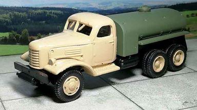 RUSAM-ZIL-157-61-410 — Автоцистерна ЗИЛ 157 (бежевая кабина), 1:87, 1958—1991, СССР