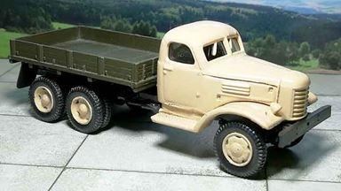 RUSAM-ZIL-157-10-410 — Автомобиль ЗИЛ 157 бортовой (бежевая кабина), 1:87, 1958—1991, СССР