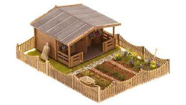 FALLER 180493 — Огород с домиком, 1:87, 1946–1977