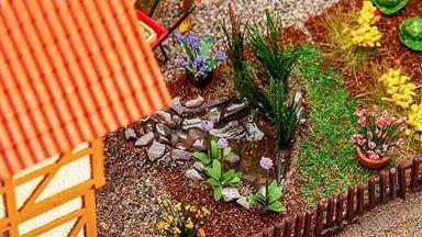 FALLER 180973 — Формы для садовых водоёмов (7 шт.), 1:87