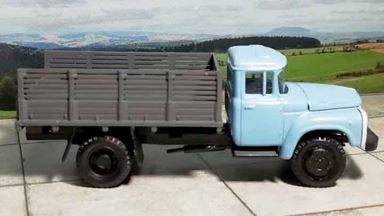 RUSAM-ZIL-130-20-650 — Автомобиль ЗИЛ 130 бортовой, 1:87, 1963—1986, СССР