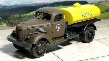 RUSAM-ZIL-164-63-144 — Автоцистерна ЗиЛ 164 «КВАС», 1:87, 1957—1964, СССР