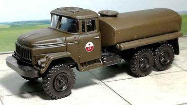 RUSAM-ZIL-131-61-901 — Топливозаправщик ЗиЛ 131 «СА», 1:87, 1966—1991, СССР