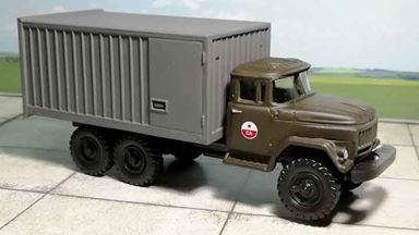 RUSAM-ZIL-131-31-901 — Автомобиль ЗИЛ 131 «СА» 20 футовым контейнером, 1:87, 1966—1991, СССР