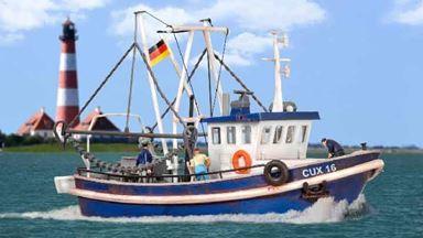 KIBRI 39161 — Рыболовный катер CUX 16, 1:87