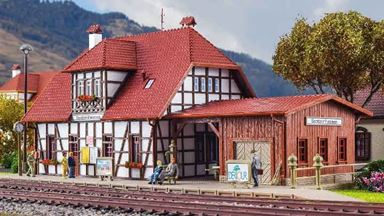 VOLLMER 43501 — Станция «Spatzenhausen», 1:87
