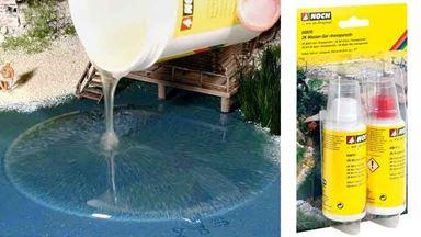 NOCH 60870 — Модельная вода (2-х компонентный гель ~100 мл), 1:10–1:1000