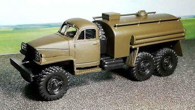 RUSAM-STUDEBAKER-65-900 — Автомобиль топливная цистерна Studebaker, 1:87, 1941—1945, США