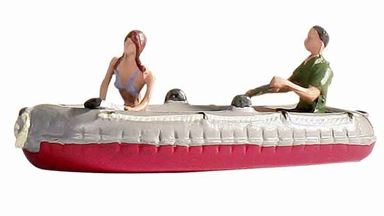 NOCH 16815 — Двое в надувной лодке, 1:87
