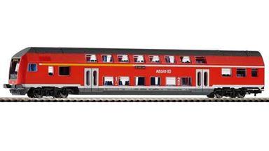 PIKO 57621 — Двухэтажный пассажирский вагон DBbuzf778, H0, VI, DB Regio