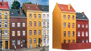AUHAGEN 11397 — Набор зданий «Schmidtstraße 21/23», 1:87