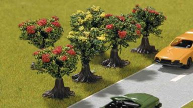 PIKO 55744 — Цветущие кусты ~27мм (6 шт.), 1:72—1:100