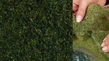 NOCH 07292 — Луговая растительность тёмно-зелёная (фолиаж ~200×230мм≈0,046м²), 1:10—1:250