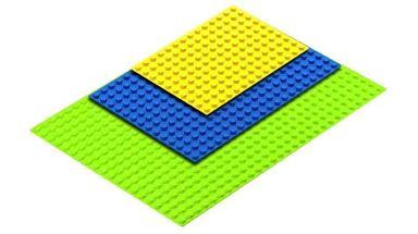 HUBELINO 400130 — 3 платы (площадки) различных размеров для блоков