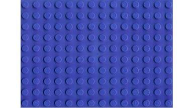 HUBELINO 401038 — Плата 14×10 (площадка) синего цвета для блоков, размер 80×112 мм