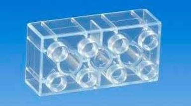 CIDDI TOYS 10155 — Блок 8×2 прозрачный (1 кирпичик)