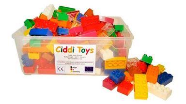 CIDDI TOYS 10157 — Разноцветные блоки 160 шт. (8×2 - 110 шт., 4×2 - 50 шт.)