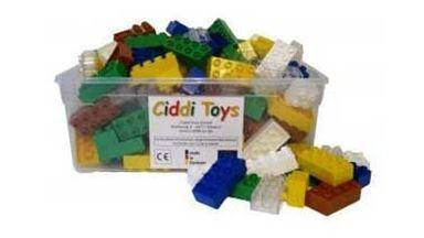 CIDDI TOYS 10159 — Разноцветные блоки 160 шт. (8×2 - 110 шт., 4×2 - 50 шт.)