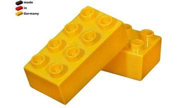 CIDDI TOYS 10171-8 — Блок 8×2 жёлтый (1 кирпичик)