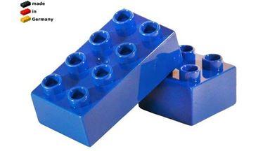 CIDDI TOYS 10172-4 — Блок 4×2 синий (1 кирпичик)