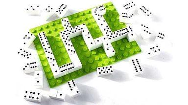 HUBELINO 401229 — Домино на плате Hubelino «Классическое», 1 плата и 35 кубиков
