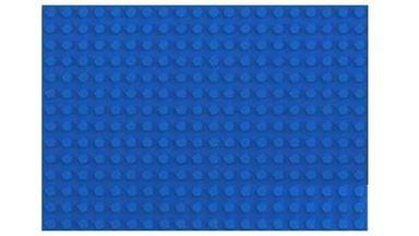 HUBELINO 402035 — Плата 20×14 (площадка) синего цвета для блоков, размер 160×224 мм