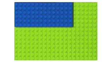 HUBELINO 402080 — Плата 20×14 (площадка) салатового цвета для блоков, размер 16×22.4 см