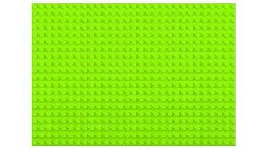HUBELINO 403087 — Плата 28×20 (площадка) салатового цвета для блоков, размер 32×44,8 см