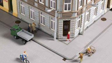 AUHAGEN 42657 — Тротуарные плитки (828 мм), 1:72—1:100