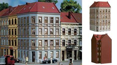 AUHAGEN 11391 — Здание «Schmidtstraße 11» угловое, 1:87
