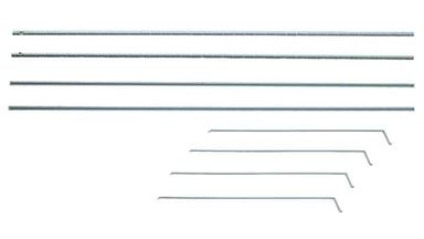 AUHAGEN 41609 — Водостоки (8 шт. 200мм) и водосточные трубы (8 шт. 91мм), 1:87