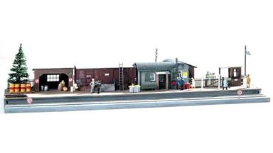 PIKO 61112 — Станция на второстепенной железной дороге (полустанок), 1:87