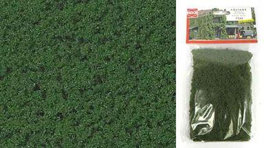 BUSCH 7342 — Листва средне-зеленая (фолиаж ~150×250 мм), 1:35—1:250