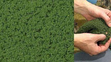 BUSCH 7341 — Майская зелень (фолиаж ~150×250 мм), 1:35—1:250