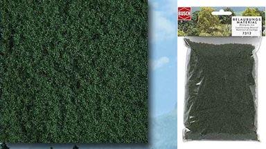 BUSCH 7312 — Листва средне-зеленая мелкая (синтетический мох), 1:10—1:250