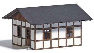 BUSCH 1662 — Дом железнодорожного смотрителя, 1:87