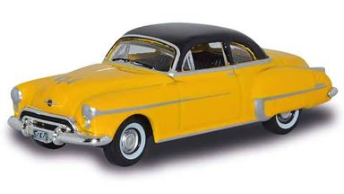 BUSCH 201128606 — Автомобиль Oldsmobile® Rocket 88 (желто-черный), 1:87, 1950
