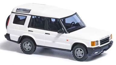 BUSCH 51902 — Автомобиль внедорожник Land Rover® Discovery (белый), 1:87, 1998—2004