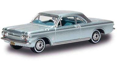 BUSCH 201129405 — Автомобиль Chevrolet® Corvair Coupé (серебристый), 1:87, 1962