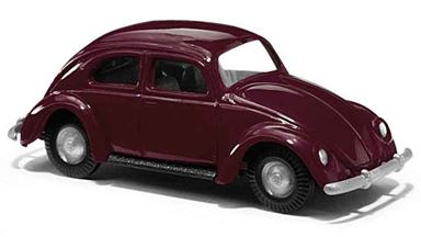 BUSCH 60201 — Автомобиль Volkswagen® Käfer «жук» красный, 1:87, 1953