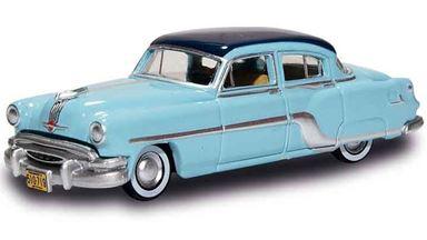 BUSCH 201129511 — Автомобиль Pontiac® Chieftain™ голубой 4-дверный, 1:87, 1954