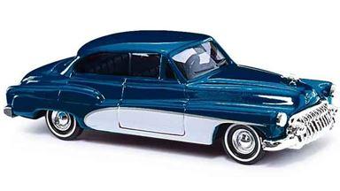 BUSCH 44721 — Автомобиль Buick® «Deluxe» синий металлик, 1:87, 1950