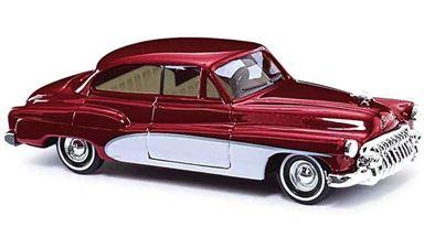 BUSCH 44722 — Автомобиль Buick® «Deluxe» красный металлик, 1:87, 1950