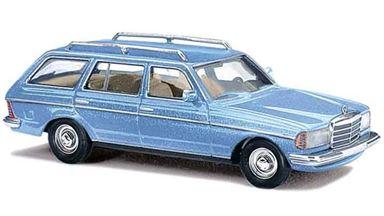 BUSCH 46841 — Автомобиль Mercedes-Benz® W123 T синий металлик, 1:87, 1977