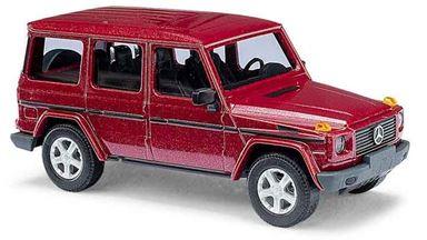 BUSCH 51405 — Внедорожник Mercedes-Benz® G-класса 90 «CMD» красный, 1:87