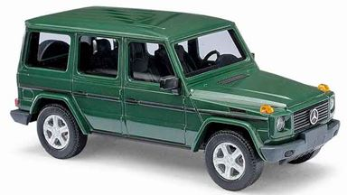 BUSCH 51402 — Внедорожник Mercedes-Benz® G-класса 90 «CMD» зеленый, 1:87