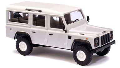 BUSCH 50300 — Внедорожник Land Rover® Defender™ белый, 1:87